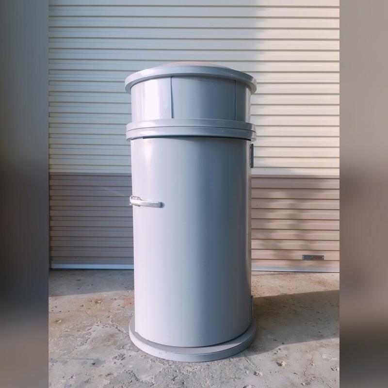 台灣製造 戶外大容量垃圾桶.置物桶.鐵桶.廚餘桶.一般垃圾.回收.  可放大型塑膠內桶