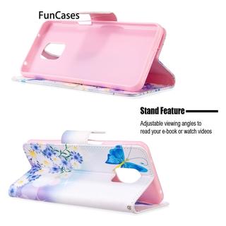 Pu 皮套 Redmi Note 9 Pro Caso Plum Blossom Redmi 蜂窩注 9s 9 Pro
