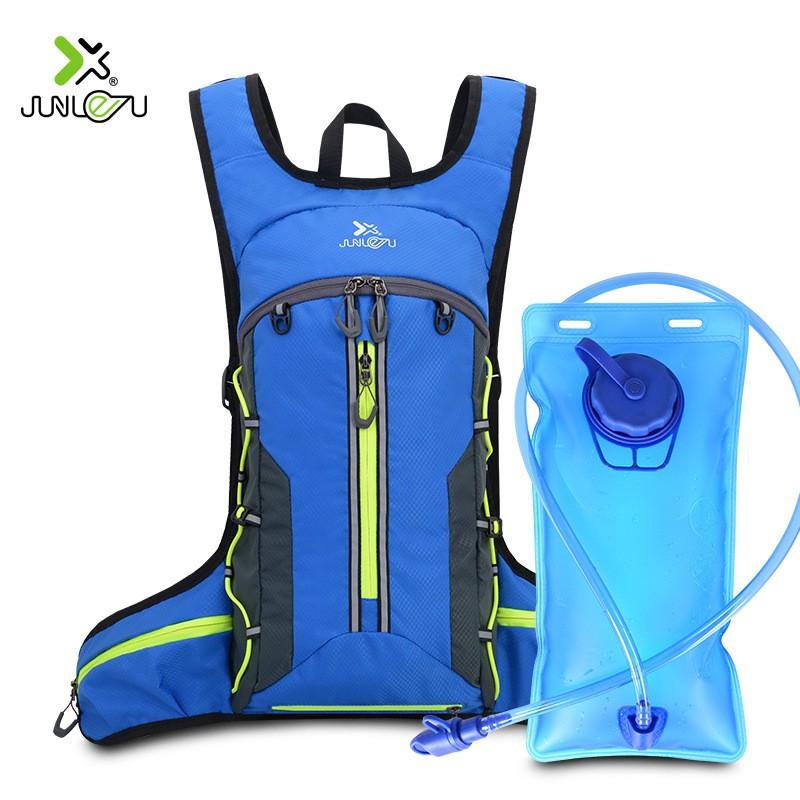 【熊居】超輕 折疊 徒步背包 戶外 運動 跑步水袋包 越野 騎行 雙肩背包