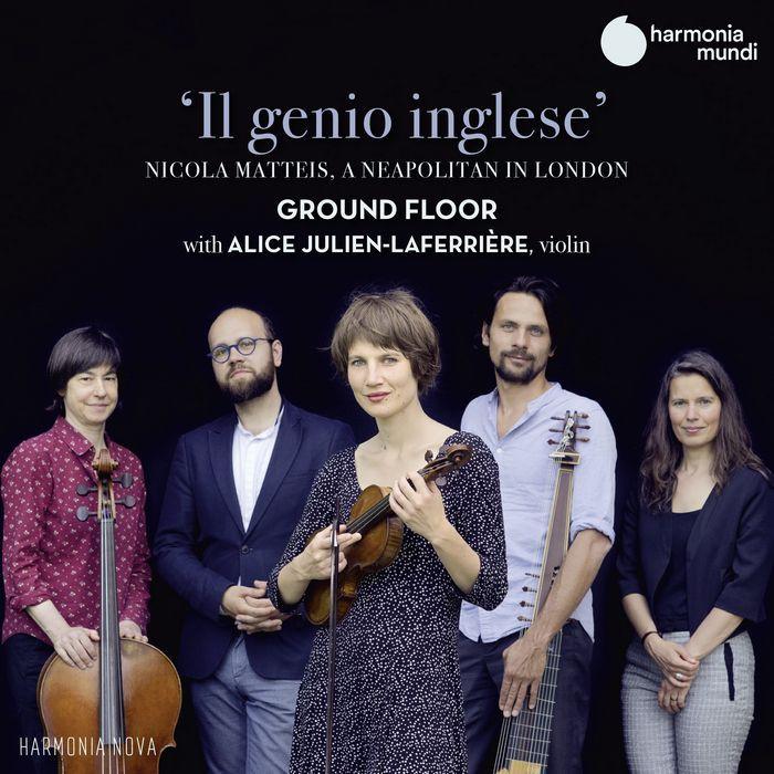 馬蒂斯 倫敦的那不勒斯人 拉費里爾 小提琴 Il Genio Inglese HMN916117