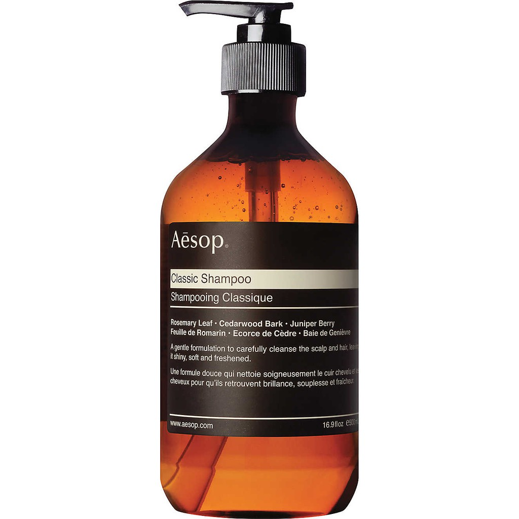 100%專櫃正貨 Aesop 經典洗髮露Classic Shampoo 500ml 500 ml 洗髮精