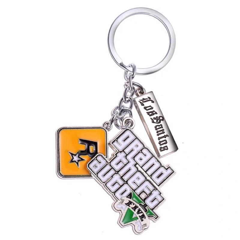 🐎現貨✨俠盜獵車手5 GTA5 吊飾 掛牌 掛飾 線上 R星 裝飾 GTA5 週邊