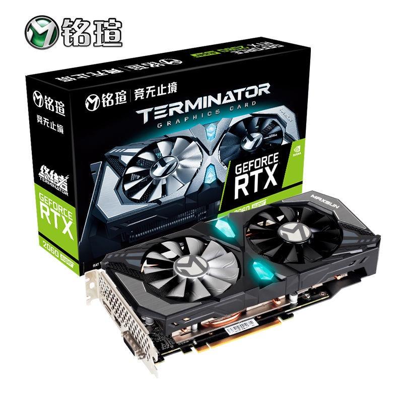新品熱賣 銘瑄RTX3070電競之心8G顯卡3060/2060S/1660S終結者6G顯卡全新