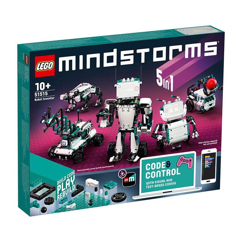 囡囡の解憂鋪【LEGO正品】樂高積木拼裝玩具5合1頭腦風暴機器人發明家51515
