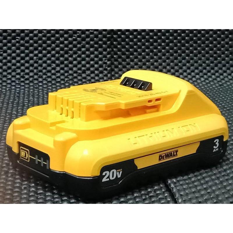 【嘟嘟工具】全新 得偉230 DEWALT DCB230 20V 3AH電池 薄型原廠電池 得偉電池 新款電芯
