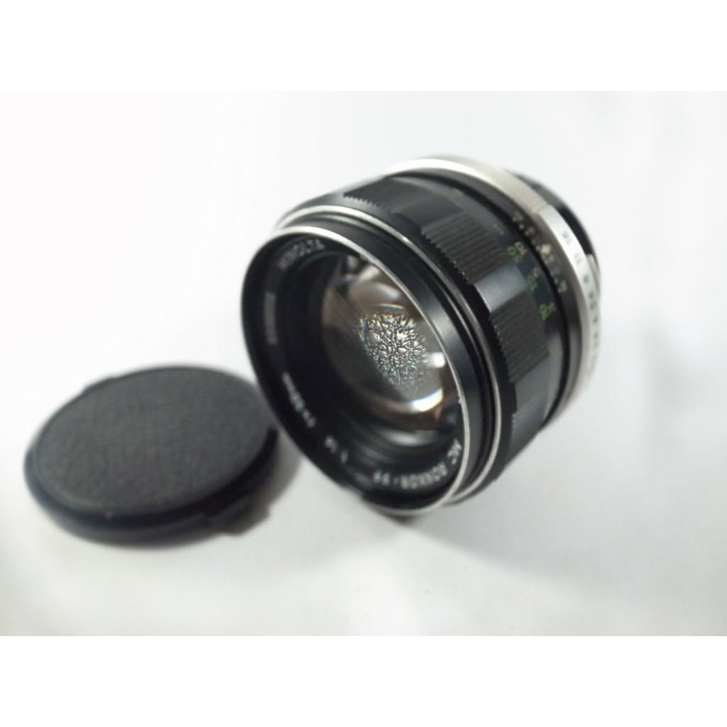 [一直攝] MINOLTA Auto ROKKOR-PF 58mm F1.4 鏡頭