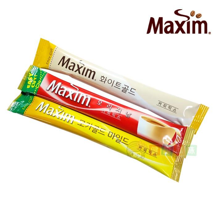 韓國Maxim 麥心摩卡/原味/白金 三合一咖啡 (單包賣場)