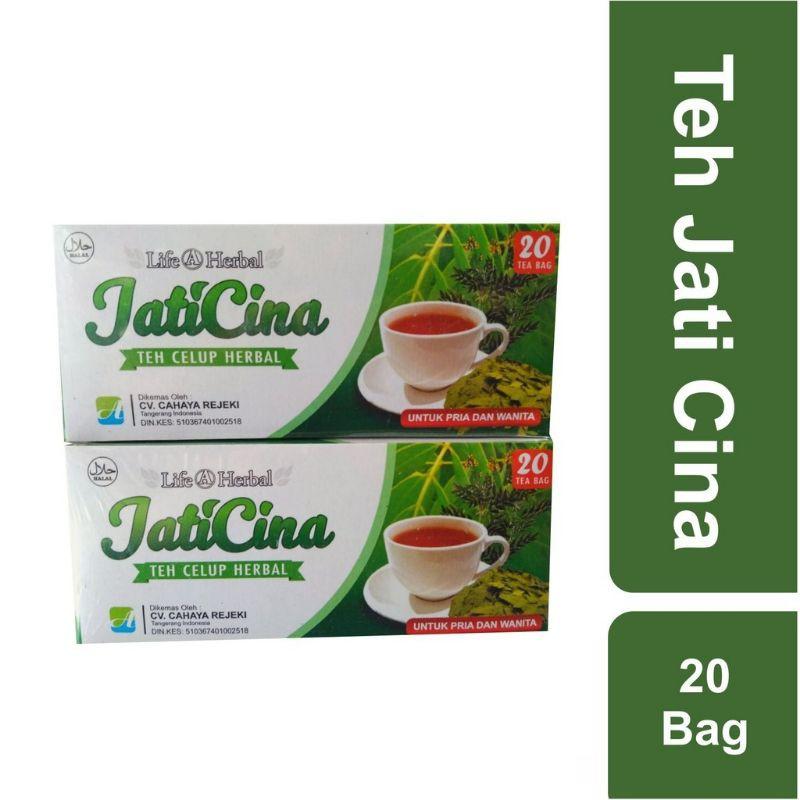 Teh Jati Cina Celup,daun jati cina life@herbal
