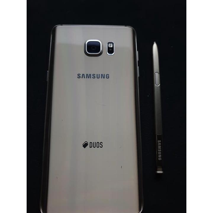 三星Samsung Note 5 福利機 二手機 空機價 琉光金.安卓7.0.雙卡(4G+3G) 外觀約8-9成新