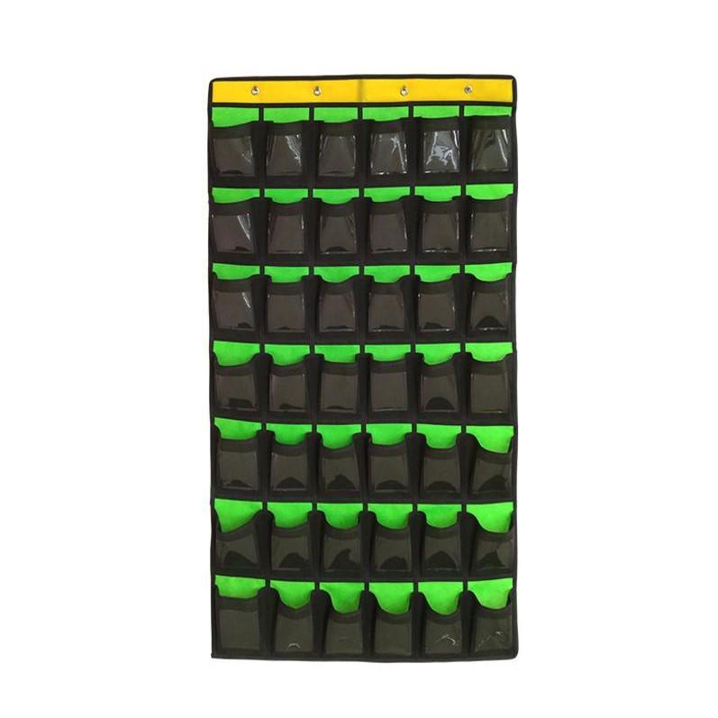 門後收納掛袋【SG409】 班級手機袋掛袋門後收納袋教室插卡整理袋無紡布掛袋DIGITAL INTERNATI1029劉