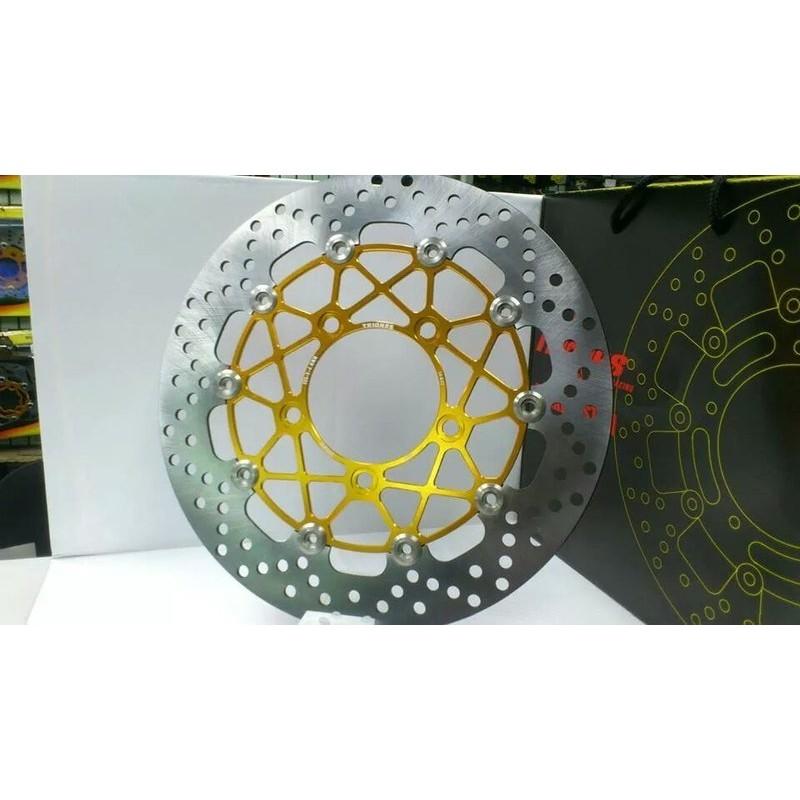 川歐力士 Downtown 350 K-XCT Nikita 鍍鈦扣 加大浮動碟盤 300 mm 煞車 碟盤