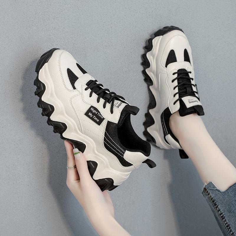 【現貨多款】老爹鞋2020新款潮秋冬季鞋子女學生韓版小白鞋ins超火加絨運動鞋