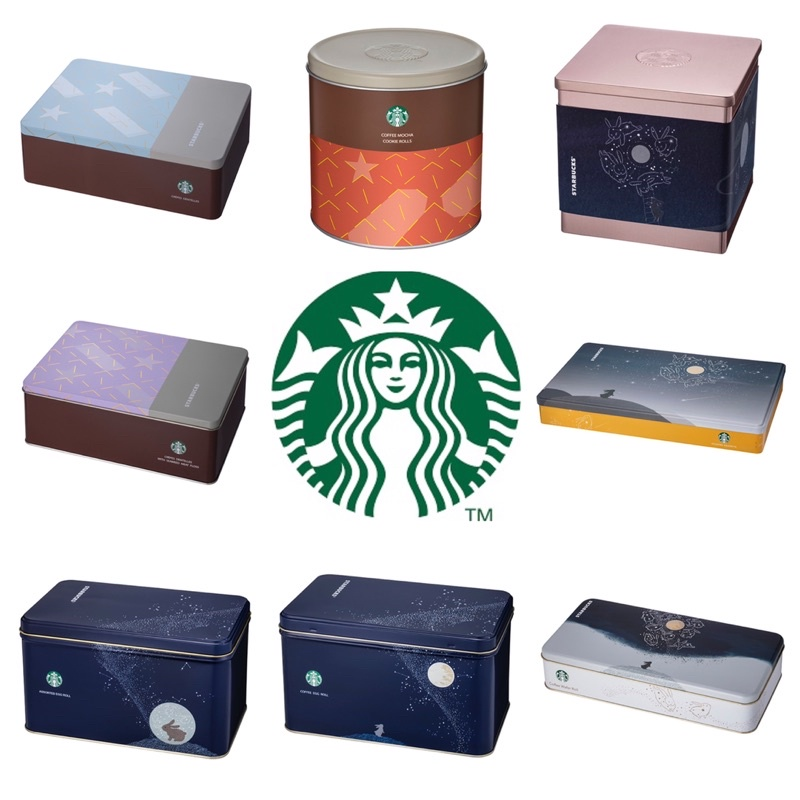 星巴克Starbucks 中秋禮盒 咖啡蛋捲(常態款包裝)