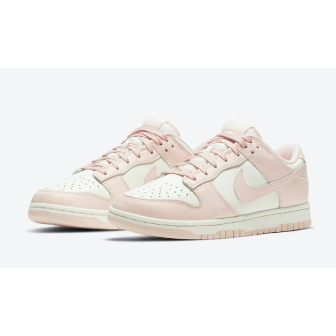 ISNEAKERS NIke Dunk Low Orange Pearl 女款 休閒板鞋 白粉色 DD1503-102