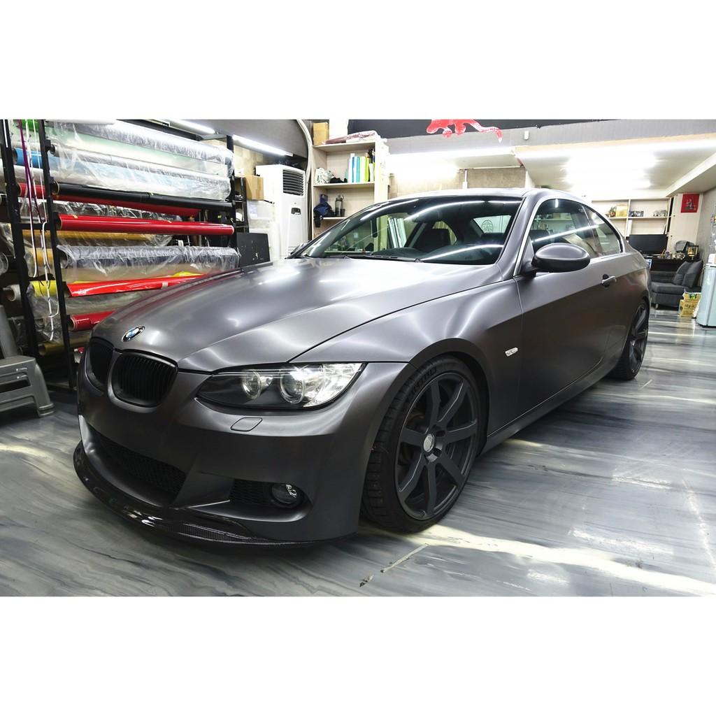 秀卡司汽車包膜 BMW E92 335CI  全車包膜改色 (3M 1080 S261絲綢灰色) E90 F30 M3