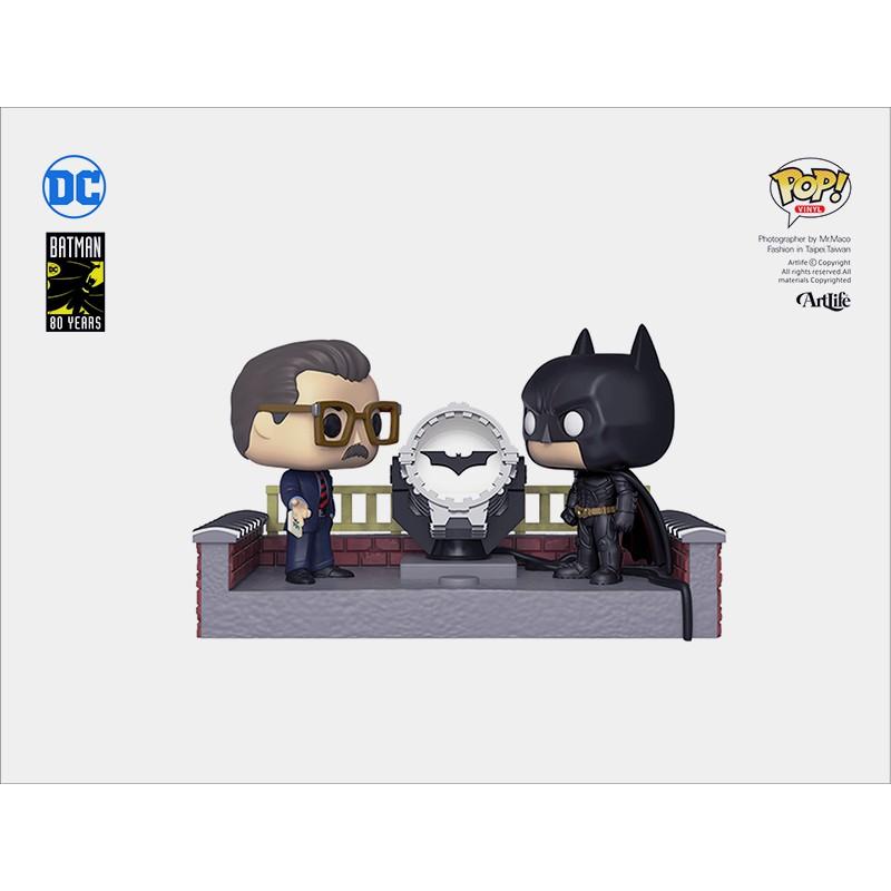 Artlife ㊁ FUNKO POP Batman BatLIGHT 80th Anniversary 蝙蝠俠 蝙蝠燈