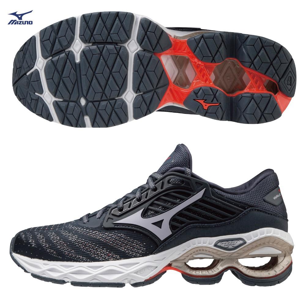 MIZUNO WAVE CREATION 22女鞋 慢跑 INFINITY WAVE 藍【運動世界】J1GD210157