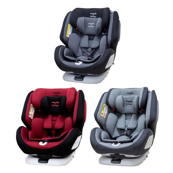 納尼亞 Nania migo系列-納歐聯名360度旋轉 0-12歲 Isofix 汽車安全座椅/汽座 FB00370