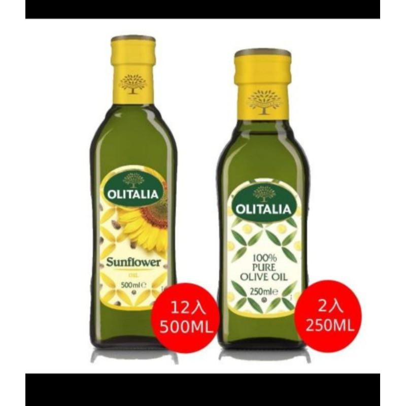 義大利奧利塔頂級葵花油(12大+2小)