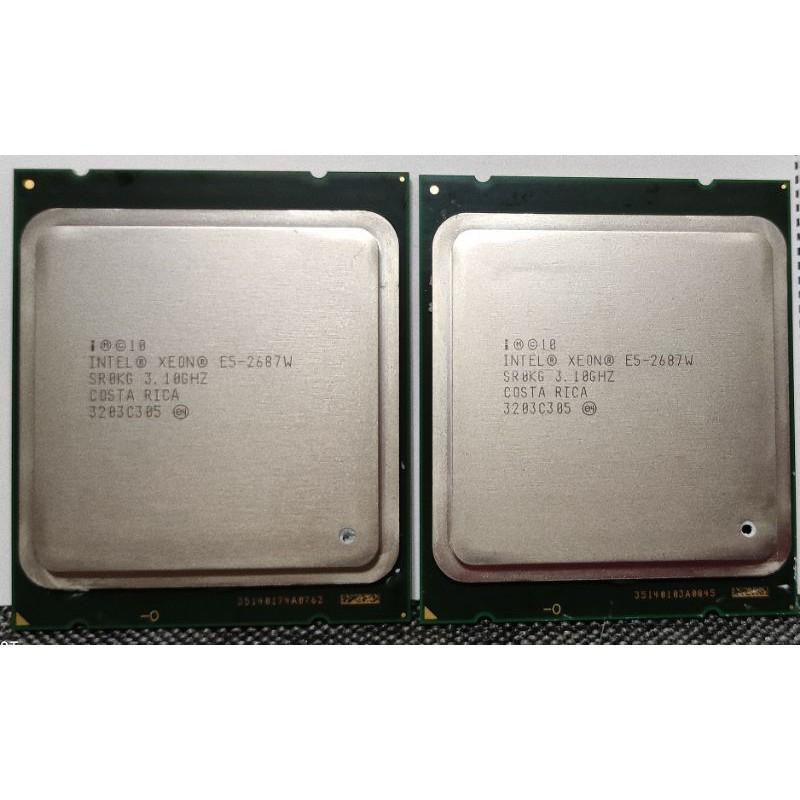 CPU cpu Intel Xeon E5-2687w RX570 8g  RX580 8g 顯示卡 顯卡 礦卡