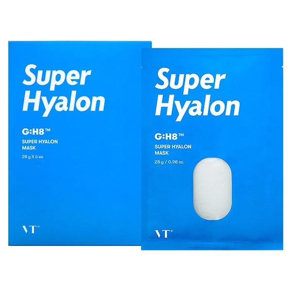 韓國 VT 超級玻尿酸面膜(28gx6片)盒裝【小三美日】D629449