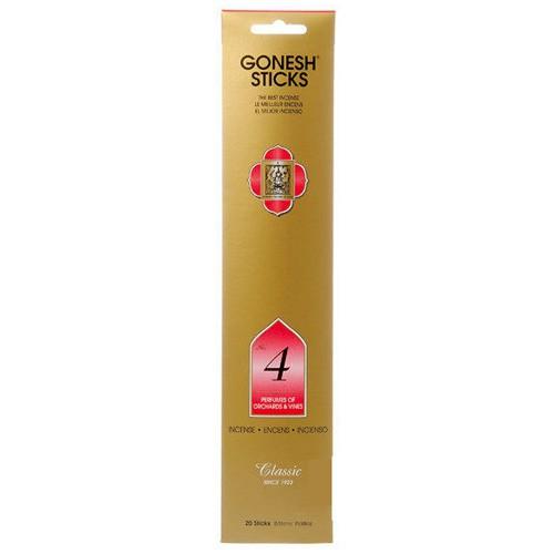 GONESH 4號 藤蔓果園 精油 線香 (20枝入) 化學原宿
