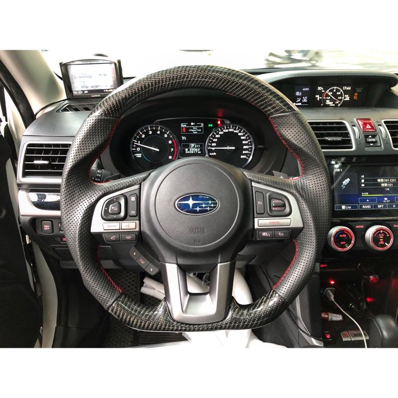 [細活方向盤] 速霸陸 Subaru Forester Outback Legacy XV Impreza 變形蟲方向盤