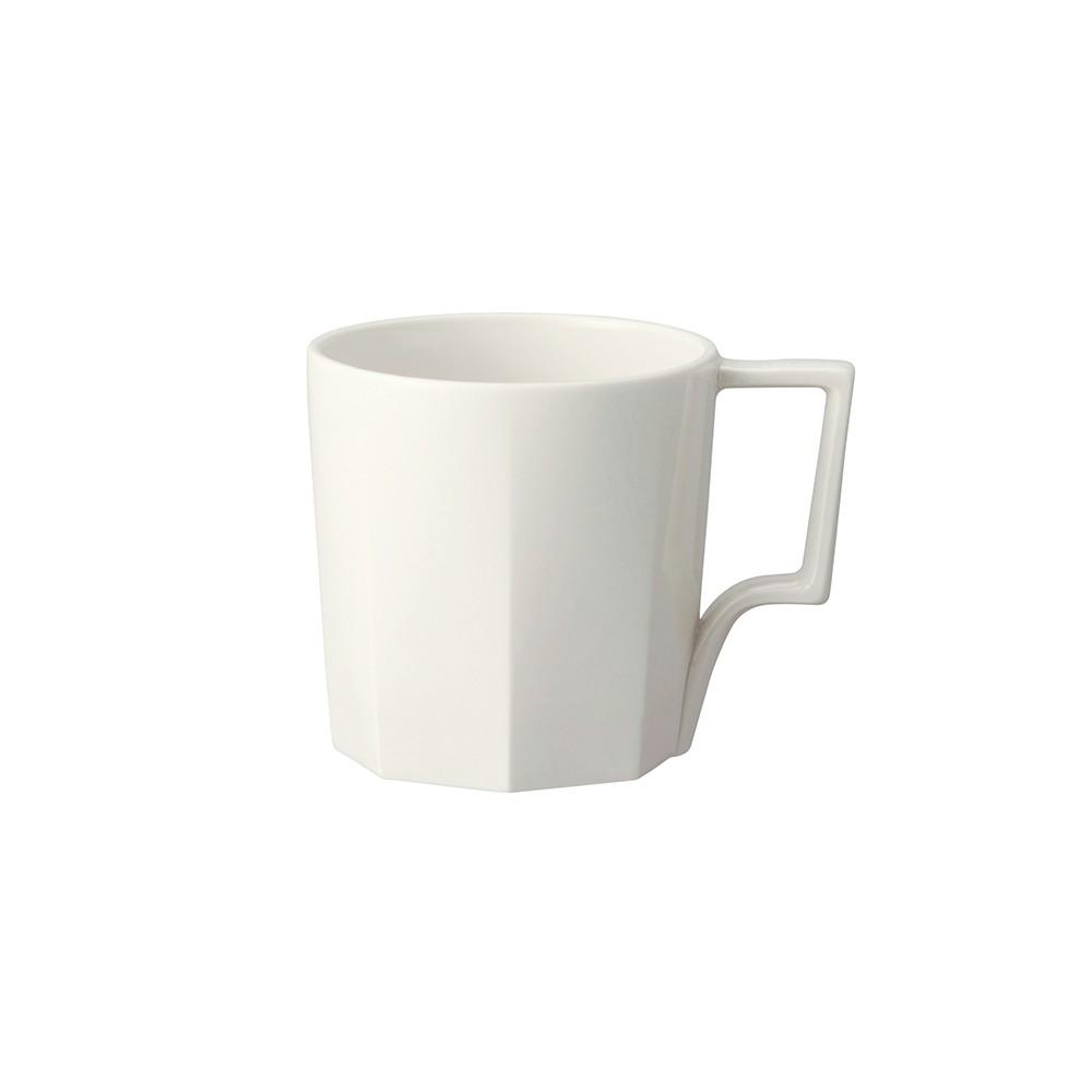 【日本KINTO】OCT八角陶瓷馬克杯300ml-共2色《WUZ屋子》咖啡杯 水杯 茶杯 瓷杯