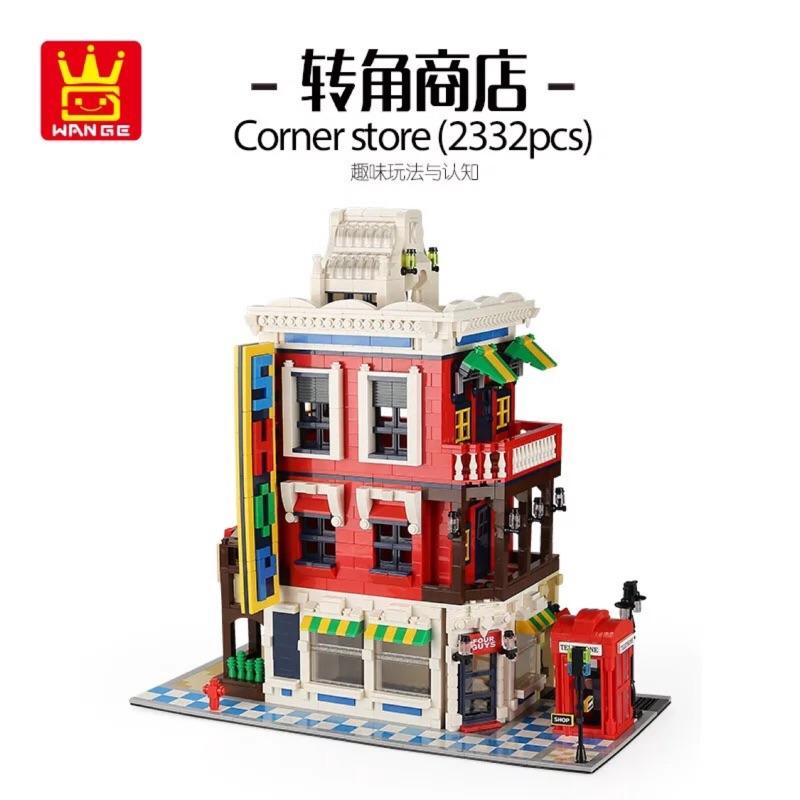現貨 萬格 6311 街景系列之轉角商品 / 相容樂高 10182 15002 15001