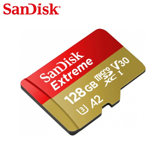 SanDisk Extreme 行動裝置電玩記憶卡 32G 64G 128G A2 microSD 記憶卡 安卓適用