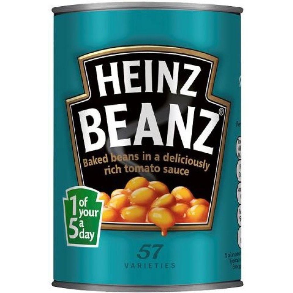 英國 HEINZ BEANZ 亨氏 茄汁焗豆 罐頭 黃豆 415g 【Suny Buy】
