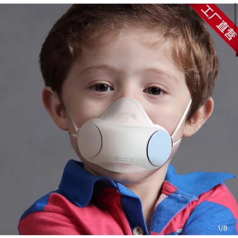 百魅兒童智能口罩電動口罩防霧霾防甲醛呼吸閥成人電動口罩pm2.5