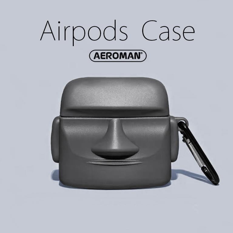 airpods pro 保護套 復活島 摩艾 石像 復活 藍牙耳機  3代