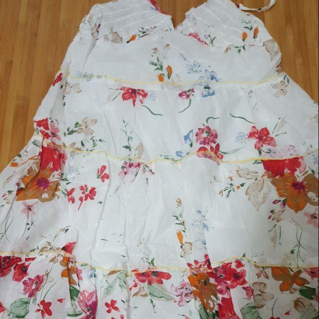 全新連身短洋裝 連身裙 短裙 洋裝 印花洋裝 上衣