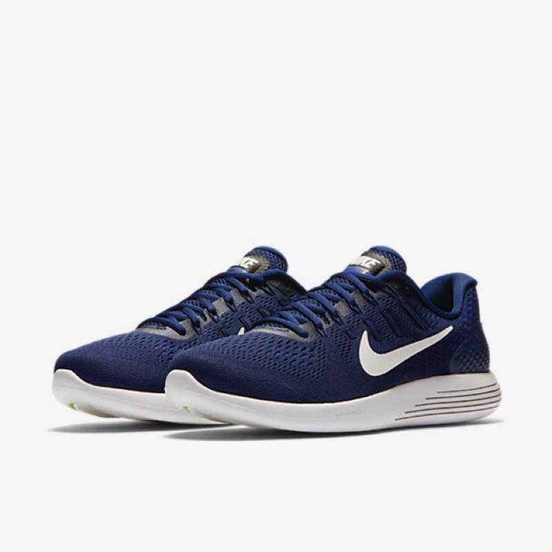 [Nike] Lunarglide8 男款慢跑鞋 藍843725404 (現貨)