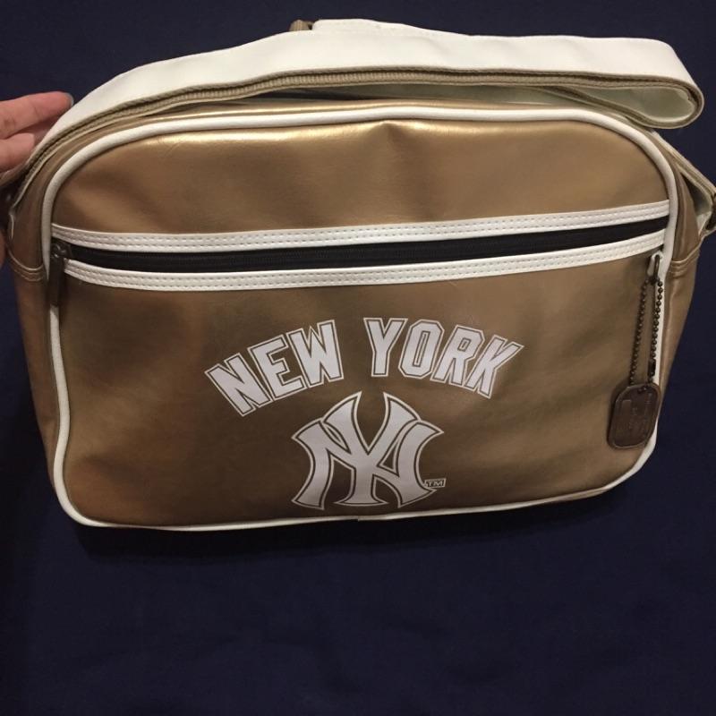 MLB美國職棒紐約洋基隊復古風運動包