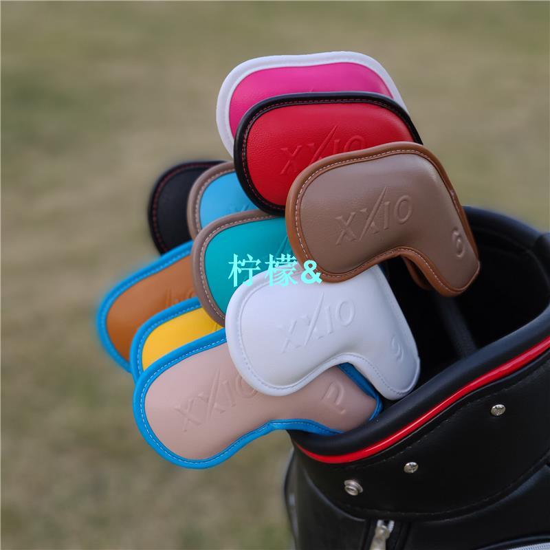 XXIO高爾夫球鐵桿套 桿頭套帽套 球桿保護套高爾夫球桿XX10球頭套 &柠檬