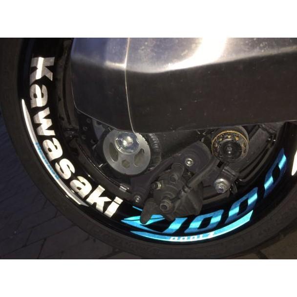 東京摩配 KAWASAKI Z1000 Z900 Z650 Z300 Z900RS Z800 Z250 輪框貼 輪圈條