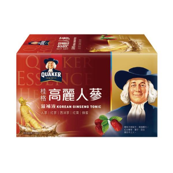 桂格 高麗人蔘盒裝 (6瓶/單盒)【杏一】