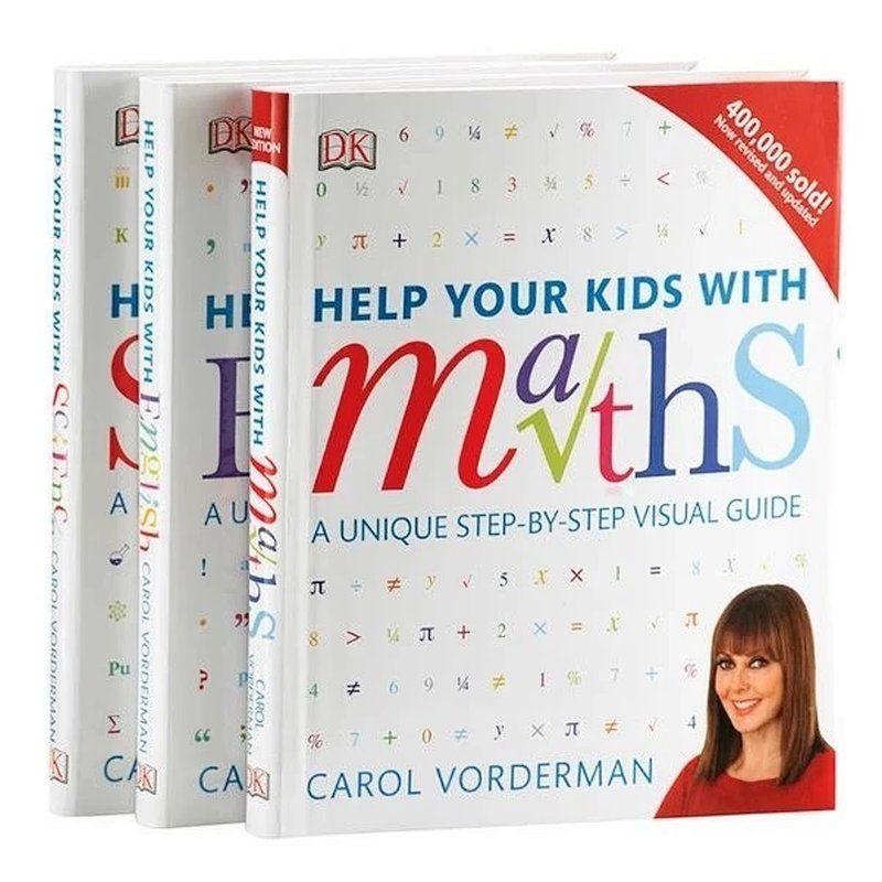 08DK Help Your Kids with系列3冊 DK數學科學教室英文學習技巧09