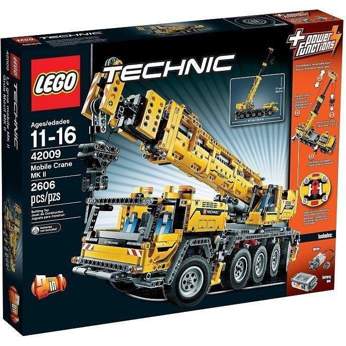 (塔比樂玩具) 樂高 LEGO 42009 TECHNIC系列 重型大吊車 盒組 現貨