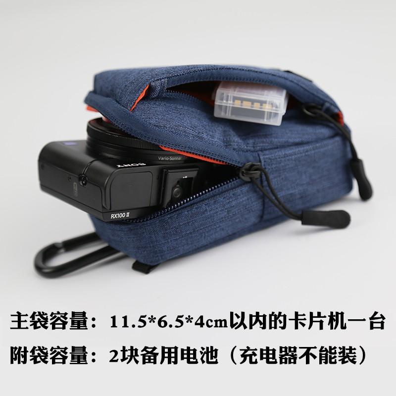 ❅▥佳能G7X3相機包斜跨理光GR松下LX10索尼RX100 zs80防水保護套日系