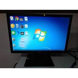 二手 ACER 19吋 LED螢幕-型號V196WL(黑色)
