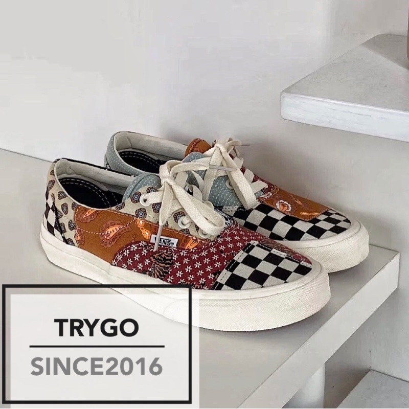 「TRYGO」VANS TIGER PATCHWORK ERA 腰果花 VN0A4U391IO