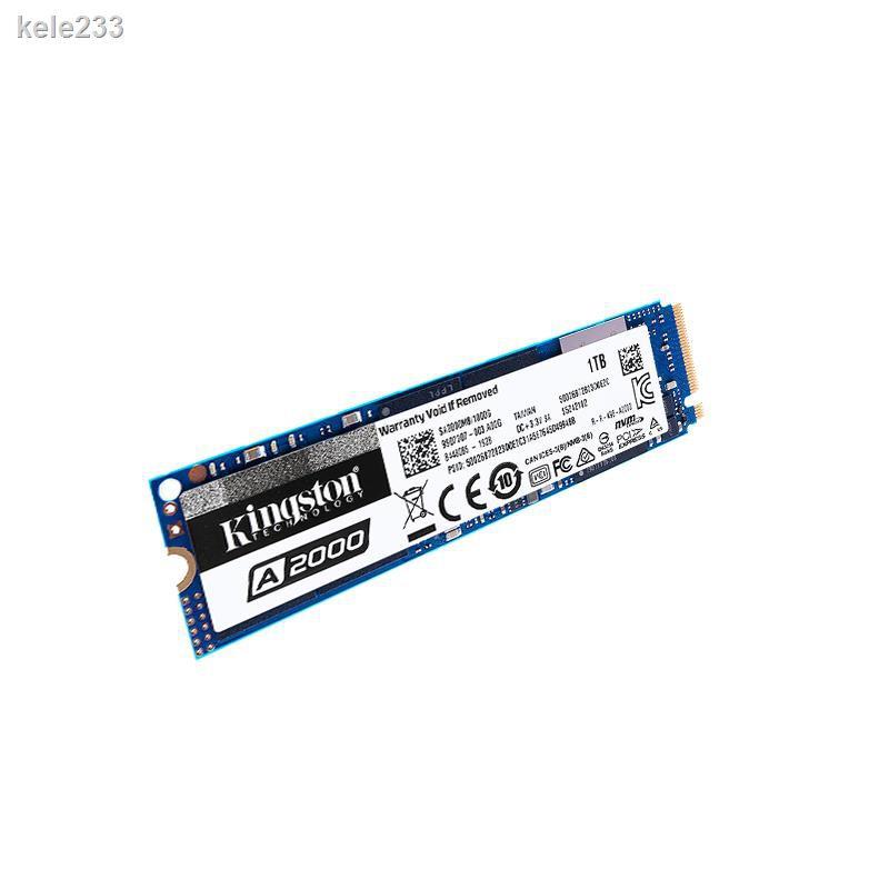 金士頓A2000 500G 1T M.2 pcie筆記本臺式機固態硬盤NVME  m2 ssd