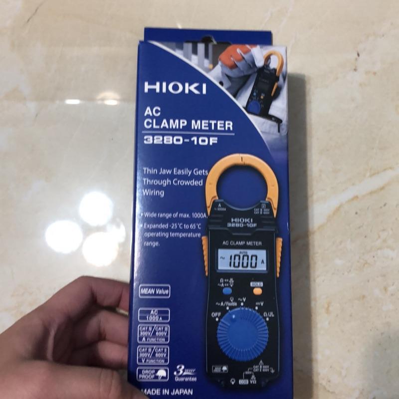 《全新》《套餐》#HIOKI# 3280-10F 數位型交流鉤表搭配 CT6280