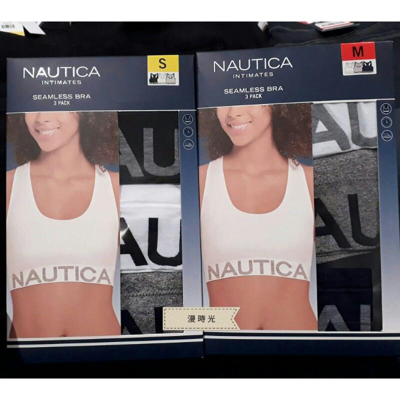 【3入】 Nautica 女舒適無鋼圈內衣 3入 XS-L / COSTCO 好市多代購