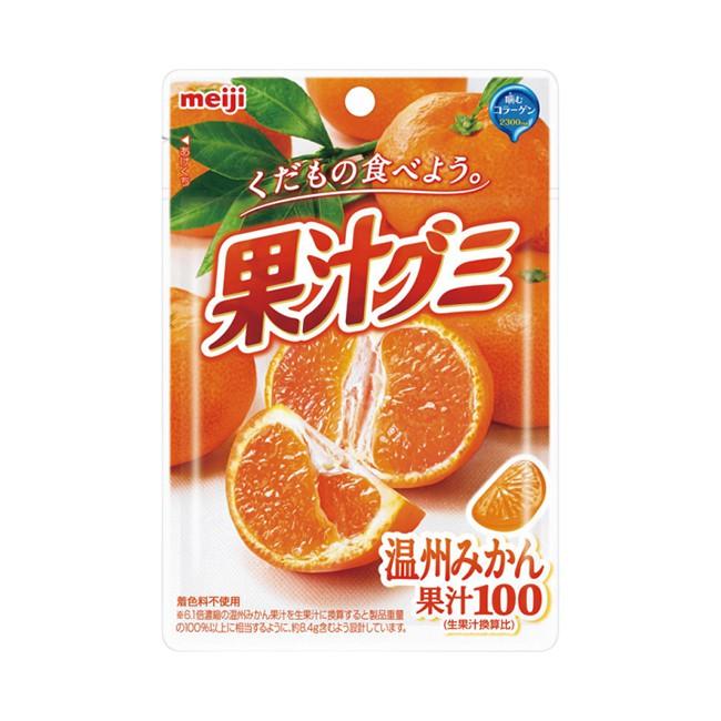 明治果汁QQ糖-溫州蜜柑  【大潤發】