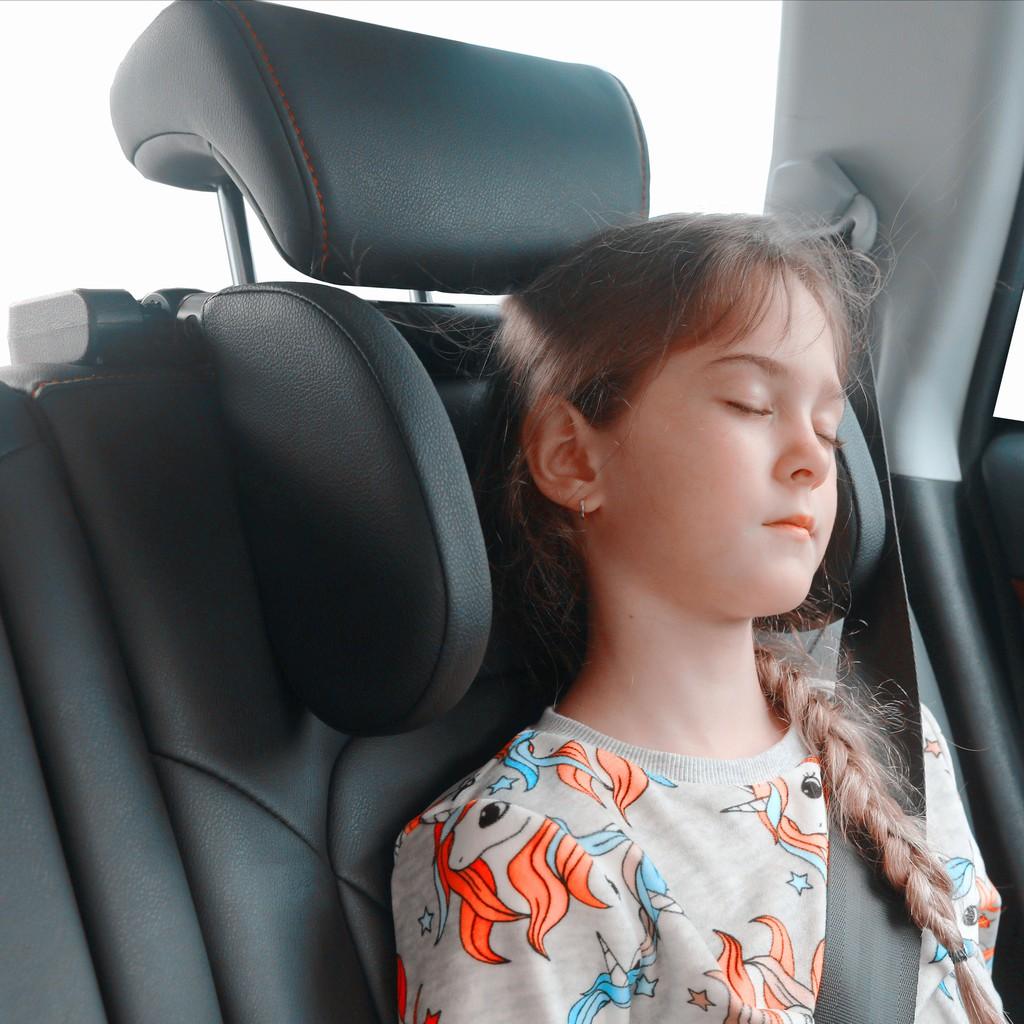 【現貨】汽車枕 睡覺神器 三軸調節U型枕汽車頭枕睡眠枕車用側靠枕 座椅側靠頸椎枕兒童成人旅行用品睡眠護頸枕 送券免運