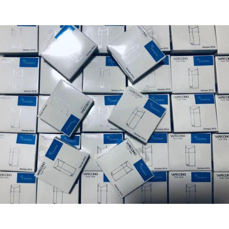 原廠正品Vapeccino mate1空倉 陶瓷芯 一盒2入美特1